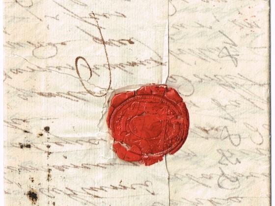 1822 aus Petersburg i.d.Schweiz, Rüs