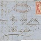 FranceInt1861SecondRate